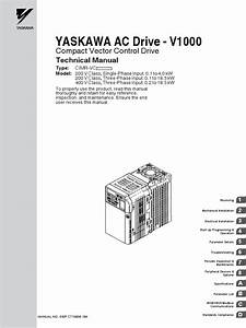Yaskawa V1000 Ac Drive Start Up Auto Tune Demonstration