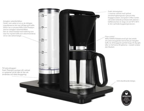 The coffee comes out sweet, balanced and with a very long aftertaste. Wilfa Svart Presisjon Coffee Maker | MOCO Vote | Glass carafe, Coffee maker, Percolator coffee
