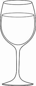 White Wine Glass Clip Art – Cliparts