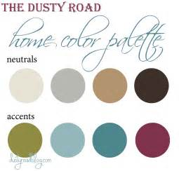color palettes for home interior home color palette home home