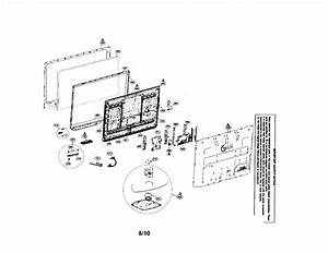 Plasma Tv Diagram  U0026 Parts List For Model 42pq10ubausnljr