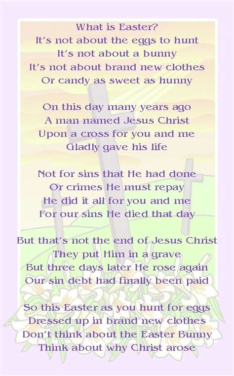 easter poem what gives me strength easter 360 | 9a81a42dc38612145c0e99aabf35aecd