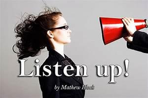 Canadian Lutheran Online » Blog Archive » Listen up!