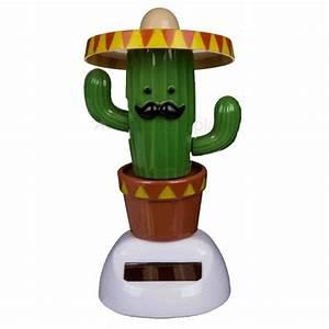 Mini Succulente Pas Cher : figurine cactus solaire pas cher objet cactus original ~ Teatrodelosmanantiales.com Idées de Décoration
