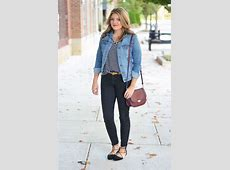 The Perfect Denim Jacket By Lauren M