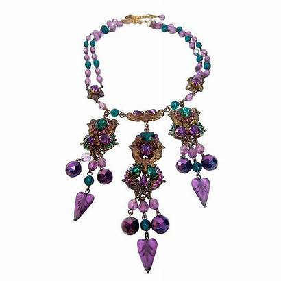 Exquisite Crystal Necklace Necklaces Drop Jewelry Jeweled