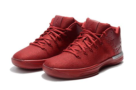 """2018 Air Jordan 31 Low """"gym Red"""" Chicago Away For Sale"""