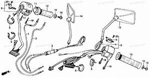 Honda Motorcycle 1987 Oem Parts Diagram For Switch