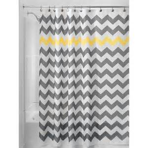 shower curtain polyester chevron interdesign target