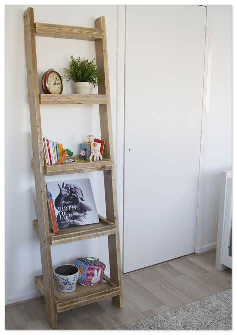 ladderkast van gebruikt steigerhout op eigen houtje meubels