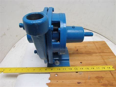 Burks Gna6-1-1/4-5.66 Centrifugal Suction Pump 1-1/4
