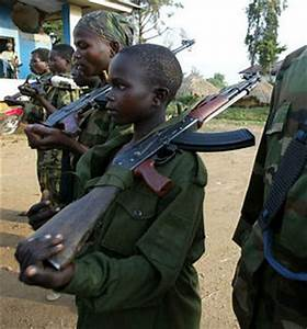 Children soldiers rescued from DR Congo militia - Africa ...