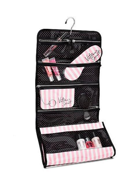 s secret iconic stripe folding hanging cosmetic bag style sacs target