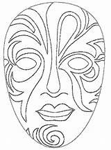 Carnival sketch template