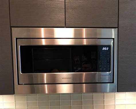 custom trim kit   ge monogram microwave model
