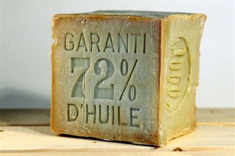 cube de savon de marseille  kilo  huile dolive  sans
