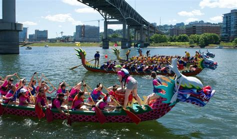Dragon Boat Racing by Dragon Boat Racing Chinese American Family