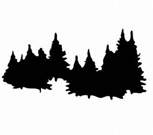 Pine tree silhouette clip art - Cliparting.com