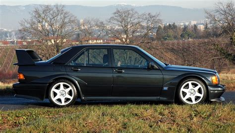 But the fact is most people. 1990 Mercedes-Benz W201 190E 2.5-16 Evolution II | BENZTUNING