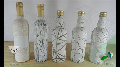diy reciclaje de botellas botellas decoradas