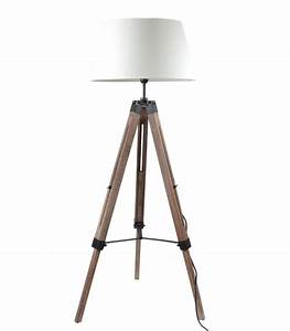 Lampadaire Interieur Design : lampadaire design marin en bois ~ Teatrodelosmanantiales.com Idées de Décoration
