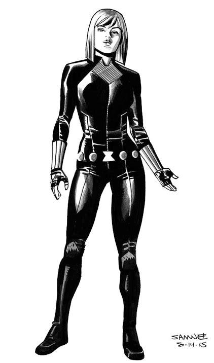 Chris Samnee, Black Widow | Black widow marvel, Black