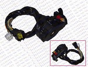 Kazuma 500cc 500 Atv Quad Left Side Handle Bar Switch