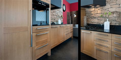 cuisine 駲uip馥 en bois r 233 alisation d une cuisine contemporaine en bois 224 bergerac