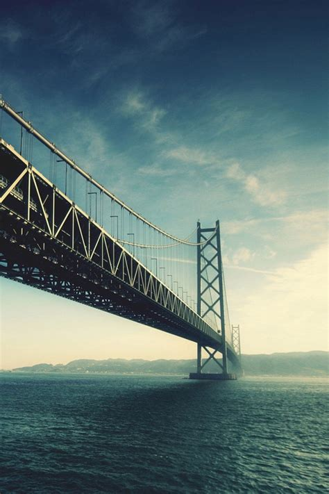 Free Iphone Wallpapers Hd Bridge On Sea Wallpapers For