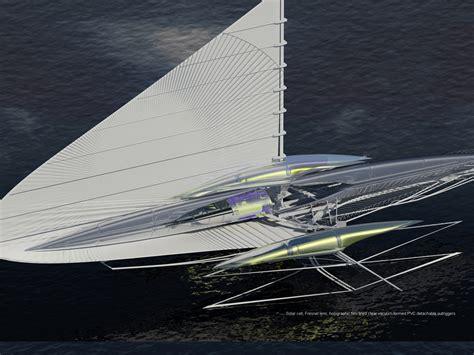 Trimaran Design Pdf by Fresnel Solar Powered Hydrofoil Trimaran Evolo