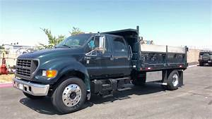 2000 Ford F650 Sd Crew Cab 14 U0026 39  Dump Truck