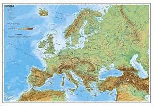 Deutschland Physische Karte : gebirge europa karte jooptimmer ~ Watch28wear.com Haus und Dekorationen