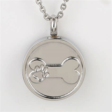 pet memorial urn necklace personalized pet memorial urn