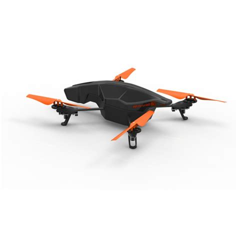 parrot ar drone  quadcopter   power edition blue