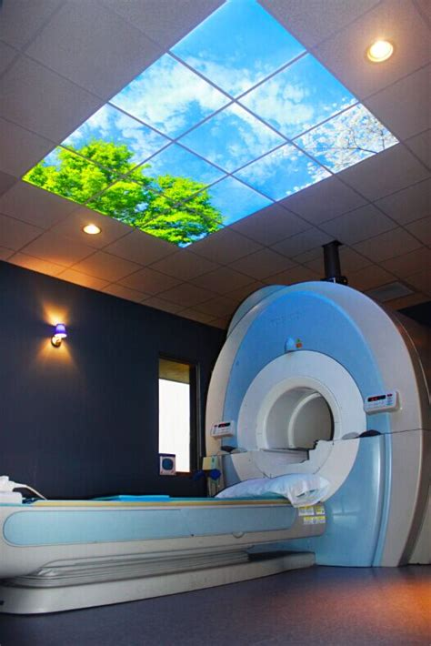 mri room ceiling lens 2x2 openview