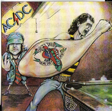 acdc dirty deeds  dirt cheap  cd discogs