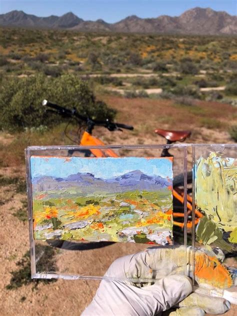 diy micro pochade painting outdoors outdoorpainter