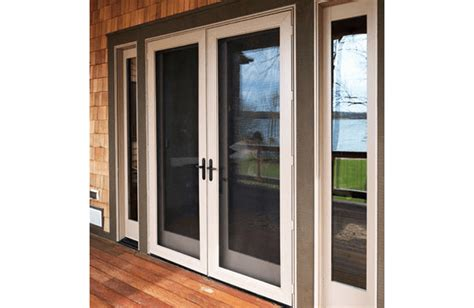 Majesty Hinged Wood Patio Door