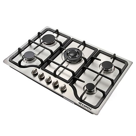 Five Burner Gas Cooktop by 30 Quot Stainless Steel 5 Burner Built In Stoves Gas