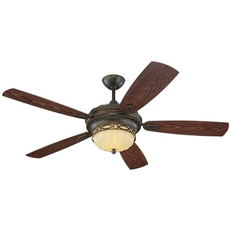 edwardian 3 light bronze indoor outdoor ceiling fan by