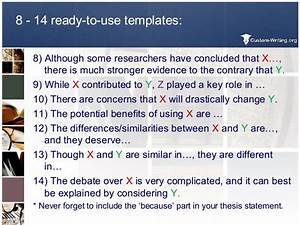easy thesis examples