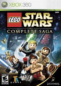 Lego Star Wars The Complete Saga Box Shot For Xbox 360