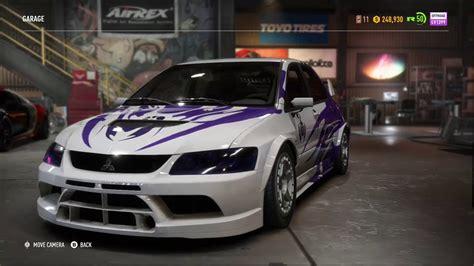Eugene Mitsubishi by Need For Speed Payback Scorpio S Lancer Evolution Ix