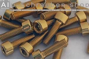 Schrauben Din 912 : alu schrauben zylinderkopf gold m6 din 912 iso 4762 ~ A.2002-acura-tl-radio.info Haus und Dekorationen