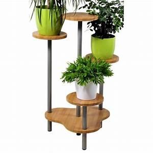 Sellette Pour Plante : support multiple pour 4 plantes hauteur 75 cm achat ~ Premium-room.com Idées de Décoration