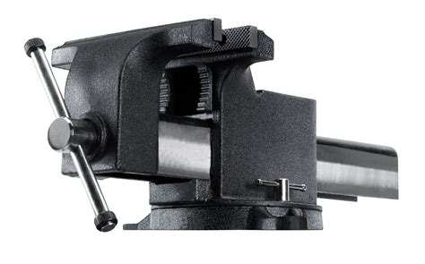 tekton   swivel bench vise purpose garage shop steel
