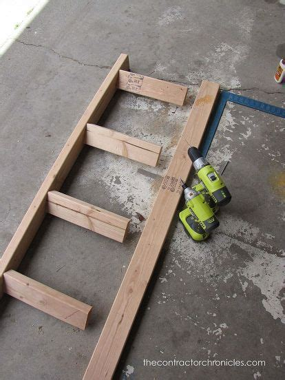 hour blanket ladder woodworking projects cool
