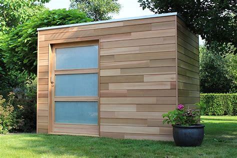 abri de jardin design les abris de jardin modernes de woodstar houten tuinhuizen woodstar