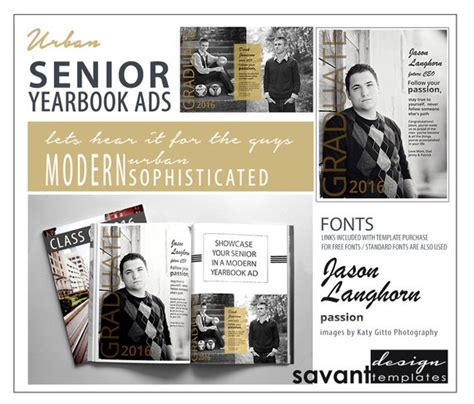 yearbook ad templates free yearbook ads senior graduation photoshop templates