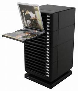 One Touch Plastic Disc Drawers :: One Touch Swivel CD Rack ...